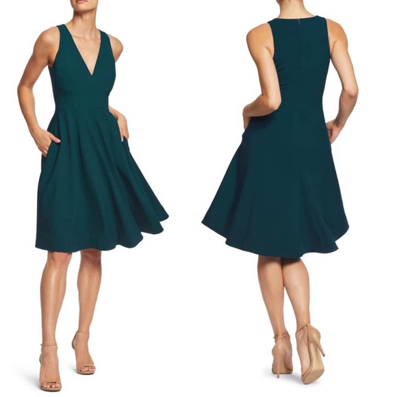 2c8791b9998f Dress the Population Dresses   Skirts - Dress The Population Green Catalina  Dress NWOT